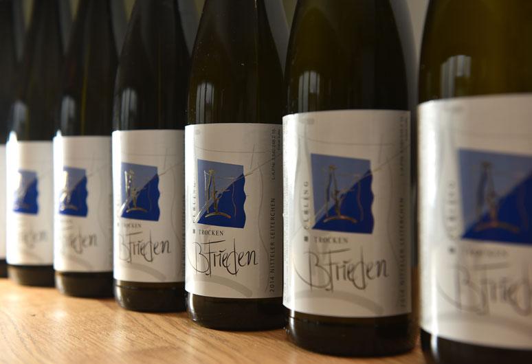 Elbling Weine des Weinguts Frieden an der südlichen Wein - Mosel in Nittel