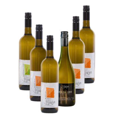 Probierpaket Burgunder, Mosel, guter Wein vom Winzer kaufen, Weinguut B. Frieden, Nittel