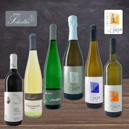 Wein Paket zu Silvester, Weingut B. Frieden, Nittel, Mosel