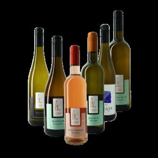 Probierpaket Süß und Fruchtig, Weinprobe feinherbe Mosel Weine, Weingut Bernd Frieden, Nittel, versandkostenfrei